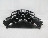Jeep Candle Reflector Metal Silhouette