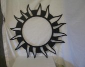 Sun Star Designs 066 Metal Yard Wall Art Silhouette