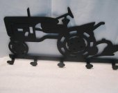 Tractor 025 Coat Rack Metal Farm Wall Art Silhouette