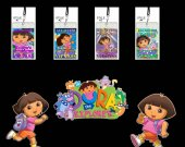 Dora the Explorer Set of 12 VIP Party Invitation Passes or Party Favors