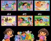 Dora the Explorer Personalized Custom 4x6 Photo Birthday Party Invitations