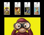 Curious George Set of 12 VIP Party Invitations or Party Favors