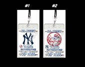 New York Yankees Set of 12 VIP Party Invitation Passes or Party Favors