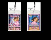 Dora the Explorer Ballerina Set of 12 VIP Party Invitations or Party Favors