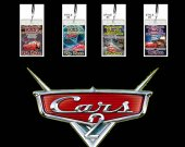 Cars 2 Set of 12 VIP Party Invitation Passes or Party Favors