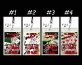 Poker Set of 12 VIP Party Invitation Passes or Party Favors