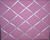 Hot Pink Gingham French Message Board