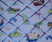 TREASURE COVE Nathans Pirate Map French Message Board m2m Pottery Barn Kids