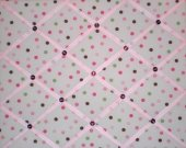 Katie Polka Dot French Message Board made 2 match Pottery Barn Kids