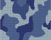Blue Camouflage Crochet Afghan Graph Pattern E-mailed.pdf #602