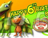 Dinosaur Train Set of 15 Water Bottle Labels - Make Great Party Favors