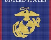 United States Marine Corp Crochet Pattern Afghan Graph E-mailed.pdf #703