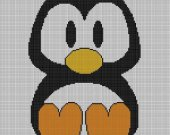 Penguin Crochet Pattern Afghan Graph E-mailed.pdf #122