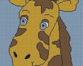 Giraffe Crochet Pattern Afghan Graph E-mailed.pdf #116