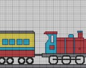 Crochet Pattern Choo Choo Train Graph E-mailed.pdf