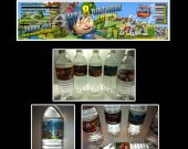 Mike the Knight Set of 15 Water Bottle Labels - Make Great Party Favors