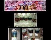Lego Friends Set of 15 Water Bottle Labels - Make Great Party Favors
