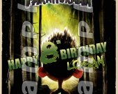 Paranorman 4x6 Personalized Birthday Party Invitations