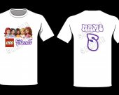 Lego Friends Personalized T-Shirt
