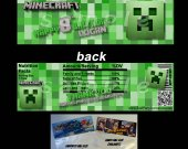 Minecraft Set of 12 Goodie Bag Toppers