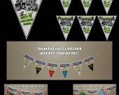 Frankenweenie 6-Triangle Pennant Banner