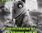Frankenweenie Personalized Thank You Cards