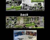 Frankenweenie Set of 12 Goodie Bag Toppers