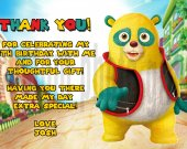 Special Agent Oso Thank You Card Personalized Birthday Digital File