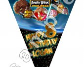 Angry Birds Star Wars 6-Triangle Pennant Banner