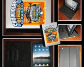 Skylanders Giants Leather iPad Case - Fits iPad 2, 3 and 4