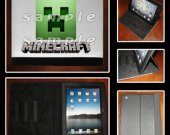 Minecraft Leather iPad Case - Fits iPad 2, 3 and 4