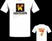 Minecraft Water Creeper Personalized T-Shirt