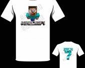 Minecraft Steve Personalized T-Shirt