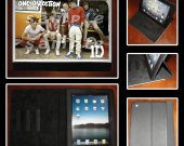 One Direction Leather iPad Case - Fits iPad 2, 3 and 4 - Style #2