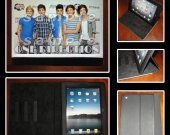 One Direction Leather iPad Case - Fits iPad 2, 3 and 4 - Style #3