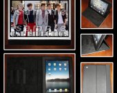 One Direction Leather iPad Case - Fits iPad 2, 3 and 4 - Style #5
