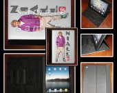 One Direction Niall Leather iPad Case - Fits iPad 2, 3 and 4
