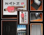 One Direction Zayn Leather iPad Case - Fits iPad 2, 3 and 4