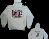 One Direction Hooded Pullover Sweatshirt - Design #9