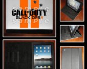 Call of Duty Black Ops 2 Leather iPad Case - Fits iPad 2, 3 and 4 - Design 1