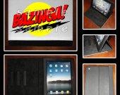 Big Bang Theory IPad I Pad Cover Bazinga #6 Leather