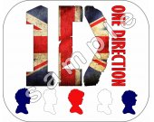 One Direction Personalized Mousepad #2