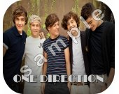 One Direction Personalized Mousepad #5