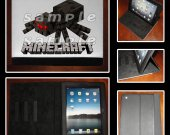 Minecraft Spider iPad Mini Leather Cover
