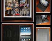 Big Bang Theory iPad Mini Leather Cover - Design 3