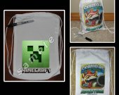 Minecraft Mini Drawstring Sport Pack - Great Party Favor Bags