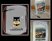 Minecraft Batman Mini Drawstring Sport Pack - Great Party Favors