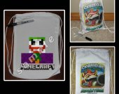 Minecraft Joker Mini Drawstring Sport Pack - Great Party Favors