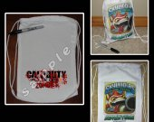 Call of Duty Black Ops 2 Zombies Mini Drawstring Sport Pack - Party Favors - Design 2