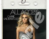 Carrie Underwood Set of 12 VIP Party Passes or Party Favors-Style 1